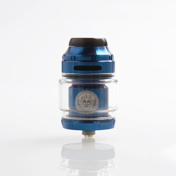 authentic-geekvape-zeus-x-rta-rebuildable-tank-atomizer-blue-stainless-steel-45ml-25mm-diameter