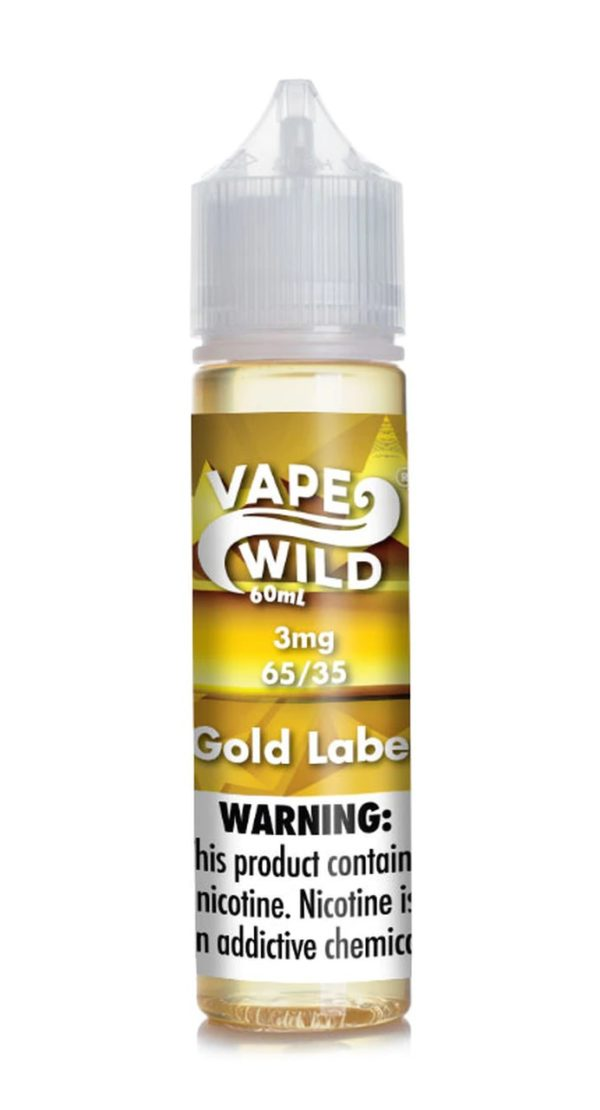 gold lable vape wild
