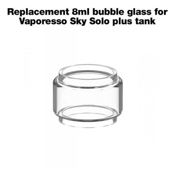 Replacement-8ml-bubble-glass-for-Vaporesso-Sky-Solo-plus-tank
