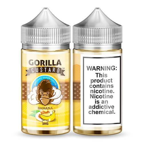 Gorilla_Custard_-_100ml_Banana