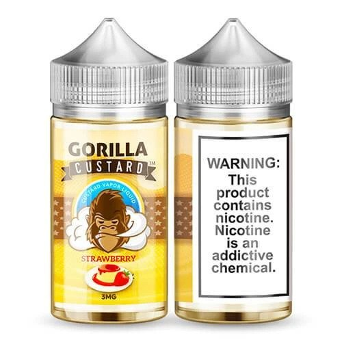 Gorilla_Custard_-_100ml_strawberry