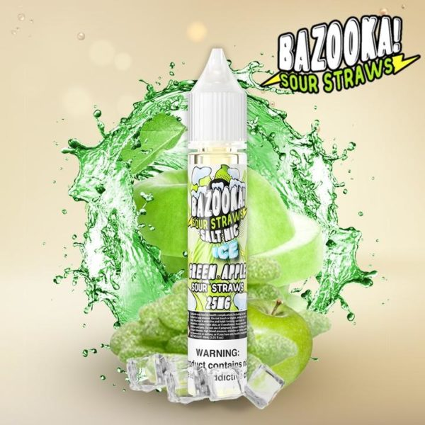 Bazooka-saltnic-Green-Apple-Ice-karachi-vapers