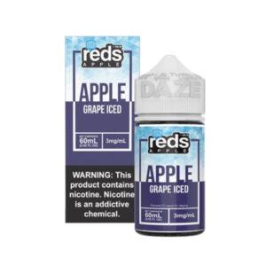 7 Daze Reds Apple Grape Iced 60mL