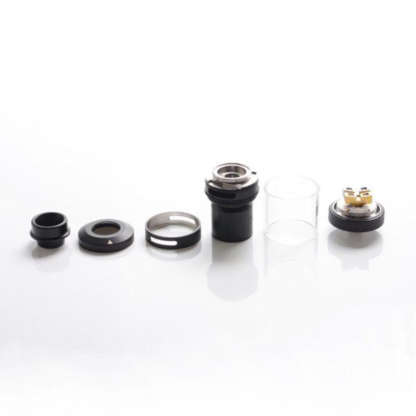 authentic-hellvape-dead-rabbit-v2-rta-rebuildable-tank-vape-atomizer-full-black-stainless-steel-2ml-5ml-25mm-diameter-available-in-pakistan