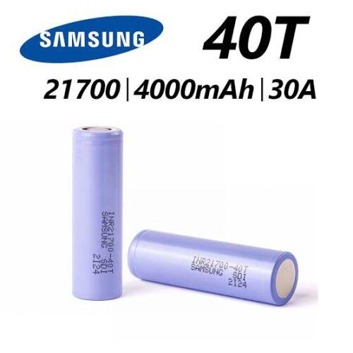 Samsung 40T 21700 4000mAh 35A Battery by Karachi Vapers