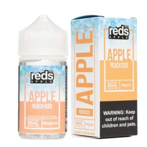 7 Daze Reds Apple Peach Iced 60ml 12mg