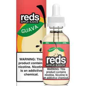 7 Daze Reds Apple Guava 60ml 3mg