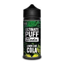 Ultimate Salts Soda Lemon and Lime Cola