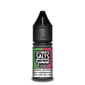 Ultimate Salts Candy Drops Watermelon & Cherry 25mg by karachi vapers