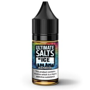 Ultimate Salts On Ice Rainbow 25mg by karachi vapers