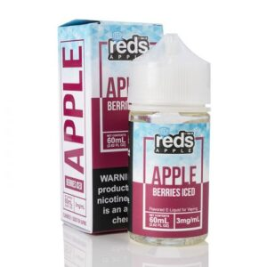 7 Daze Reds Apple Berries Iced 60ml