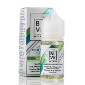 Blvk Sour Apple Salt Plus 30ml