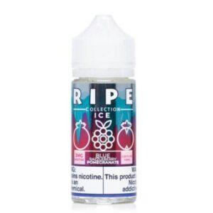 Ripe Collection Blue Razzleberry Pomegranate Ice 100ml