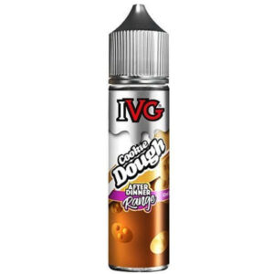 IVG Cookie Dough 60ml is a biscuit blend with a sweet taste. The sugary cookie flavour provides the base of the e-liquid, accentuated by smooth vanilla for a balanced vape.